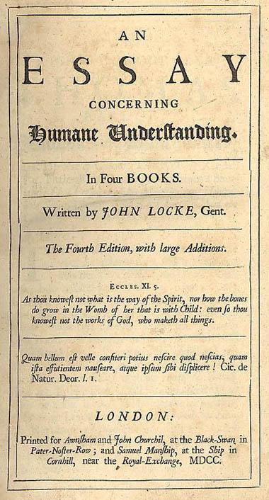 lex christianorum golden rule in john locke s an essay concerning  title page of john locke s essay concerning human understanding