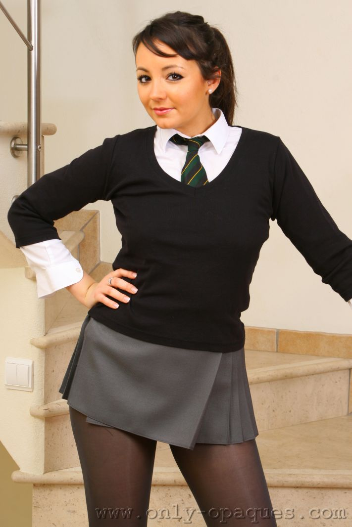 school girl with tights porn