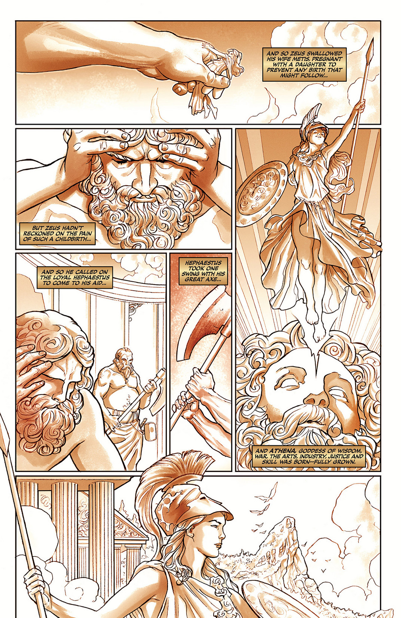 Read online Athena comic -  Issue #1 - 13