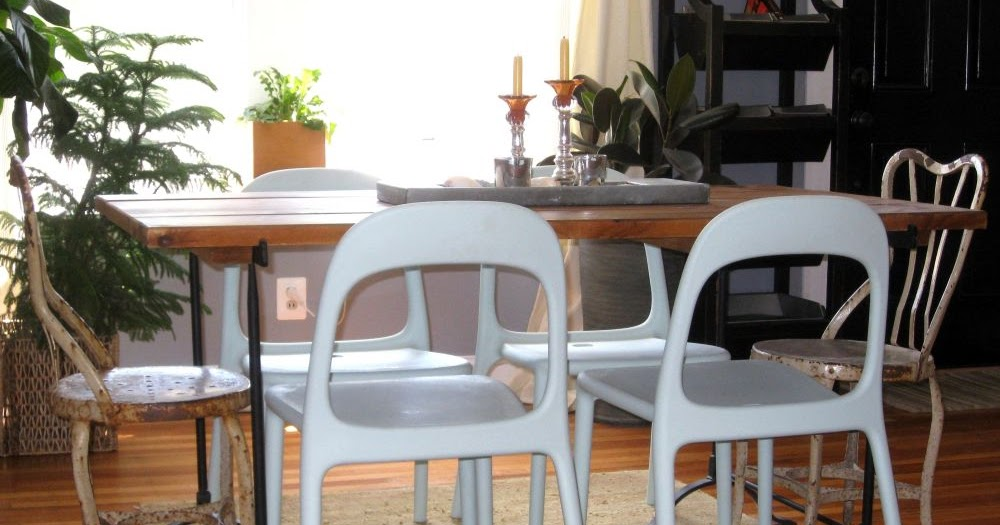 She Moves The Furniture Garden Furniture Invited Indoors