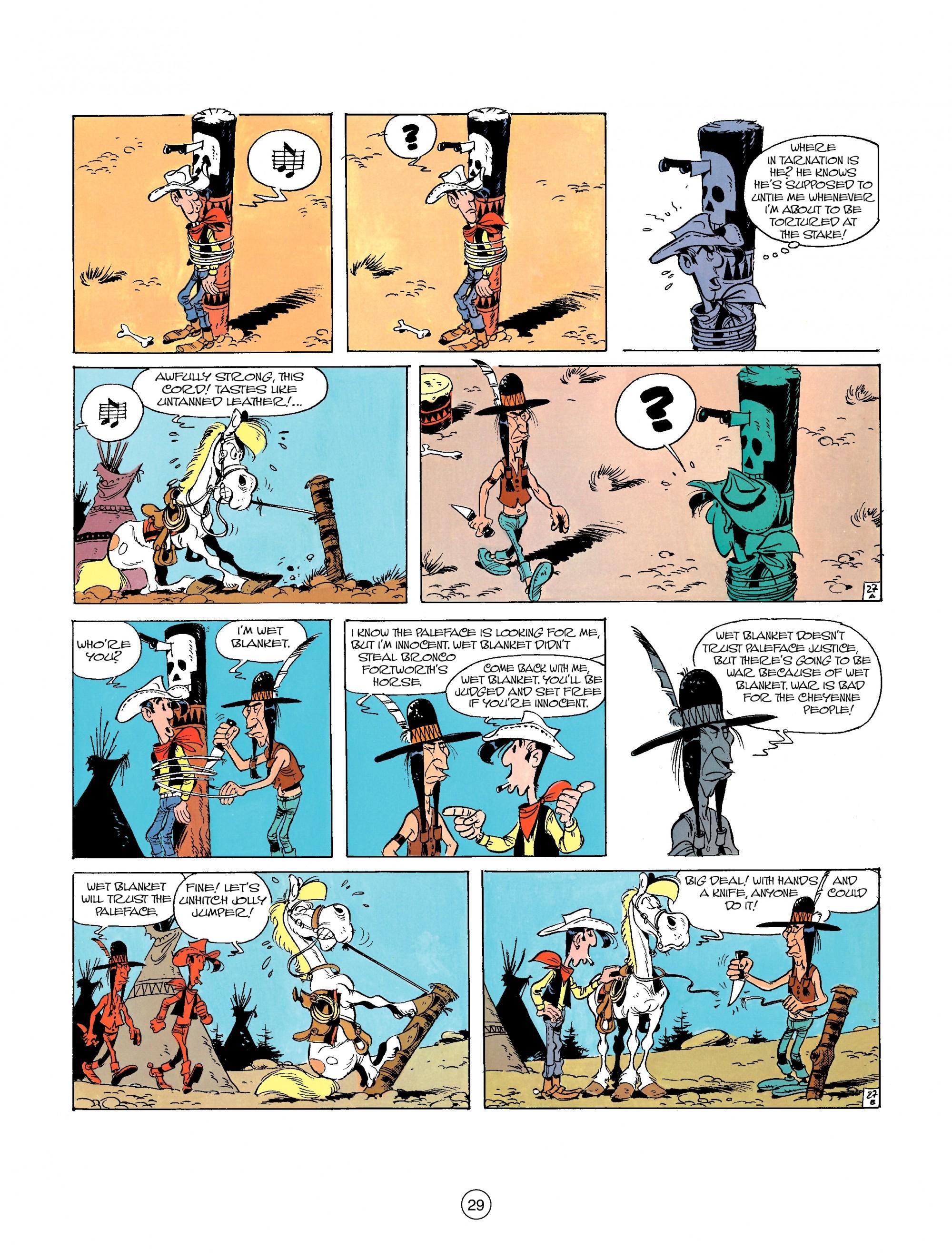 Read online A Lucky Luke Adventure comic -  Issue #26 - 29