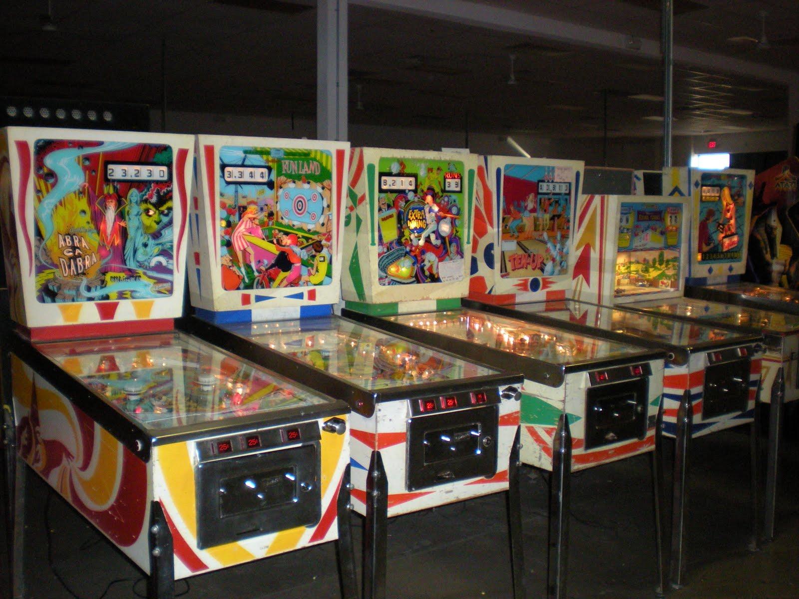 LasVegasGinger Las Vegas Pinball Hall Of Fame