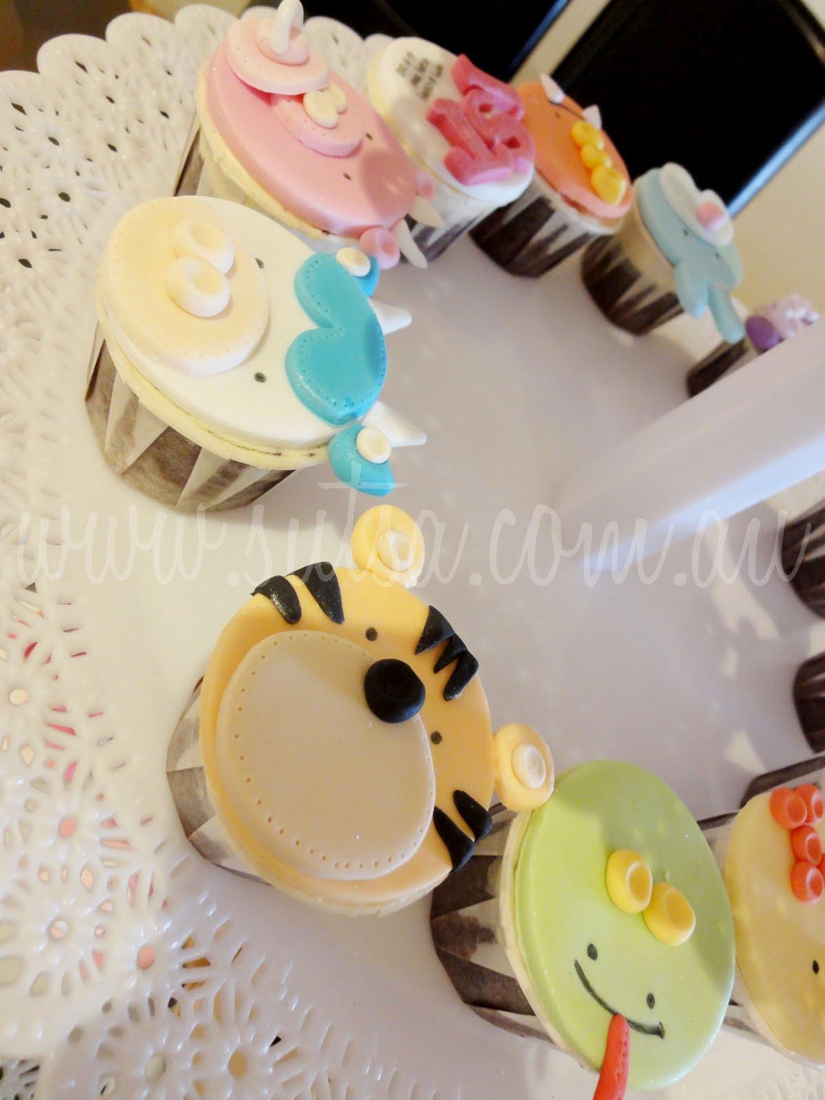 A Little Baking Memoir Baby Chinese Zodiac Cupcakes