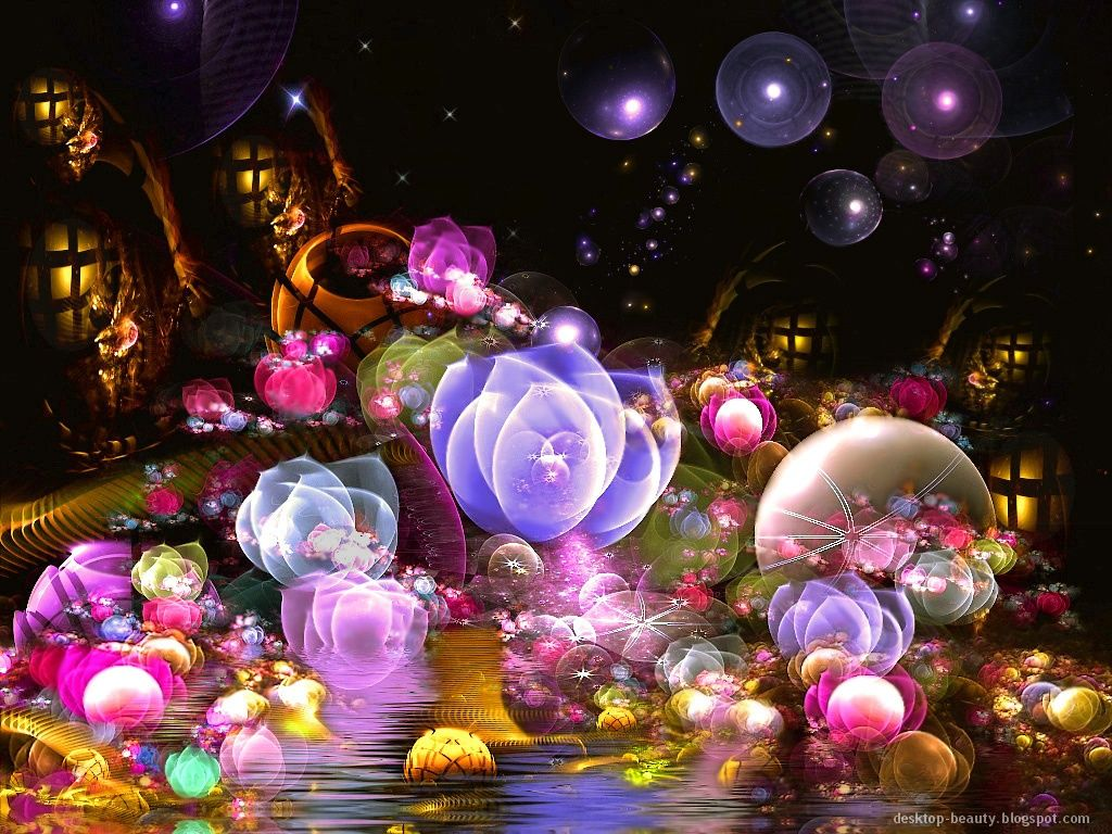 Ipad Wallpaper Little Plant In A Bubble: For Your Desktop:::...: Flowers Abstract Photo