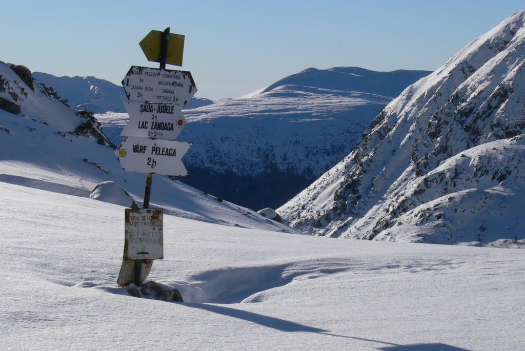 Imagini pentru Peleaga iarna