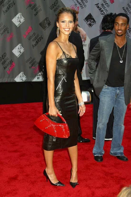 Leather Leather Leather Blog Jessica Alba Leather