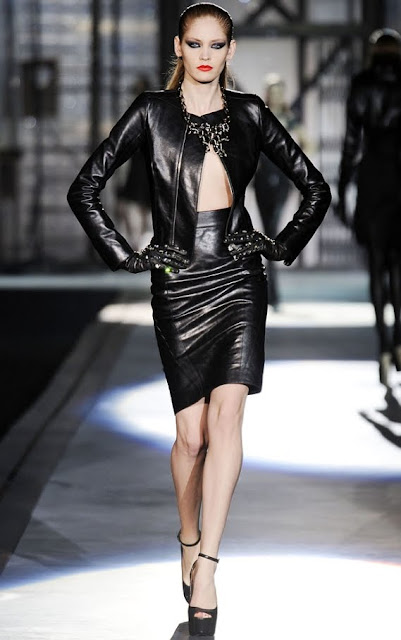 Leather Leather Leather Blog Dsquared Leather Video