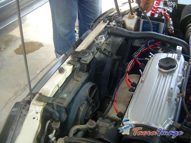 Tacra S Diy Garage Radiator Condenser Conversion