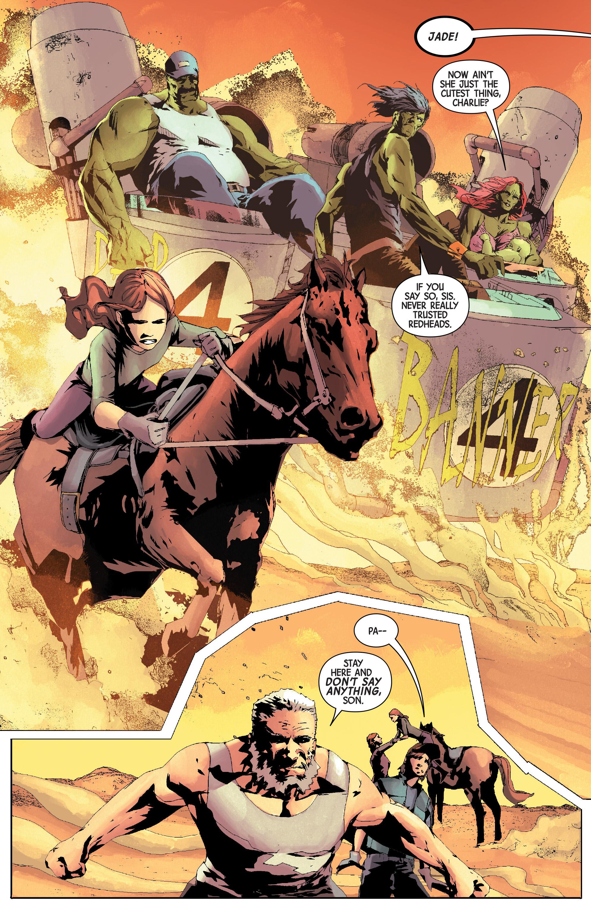 Read online Old Man Logan (2016) comic -  Issue #24 - 11