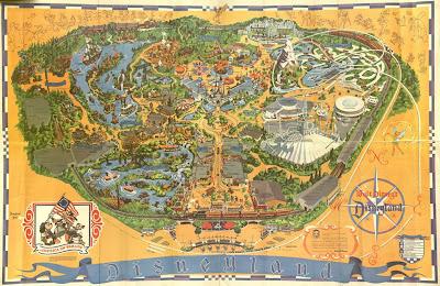 Vintage Disneyland Tickets September 2008