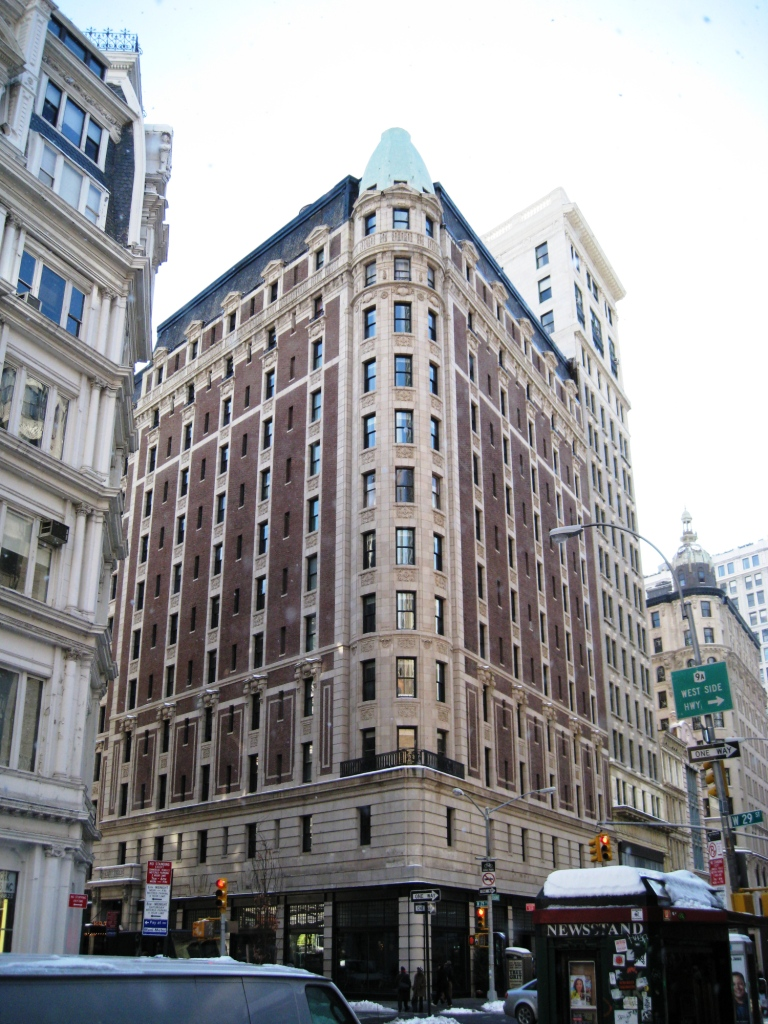 A Century of Survival, The Breslin Hotel / Ace Hotel 1186 Broadway