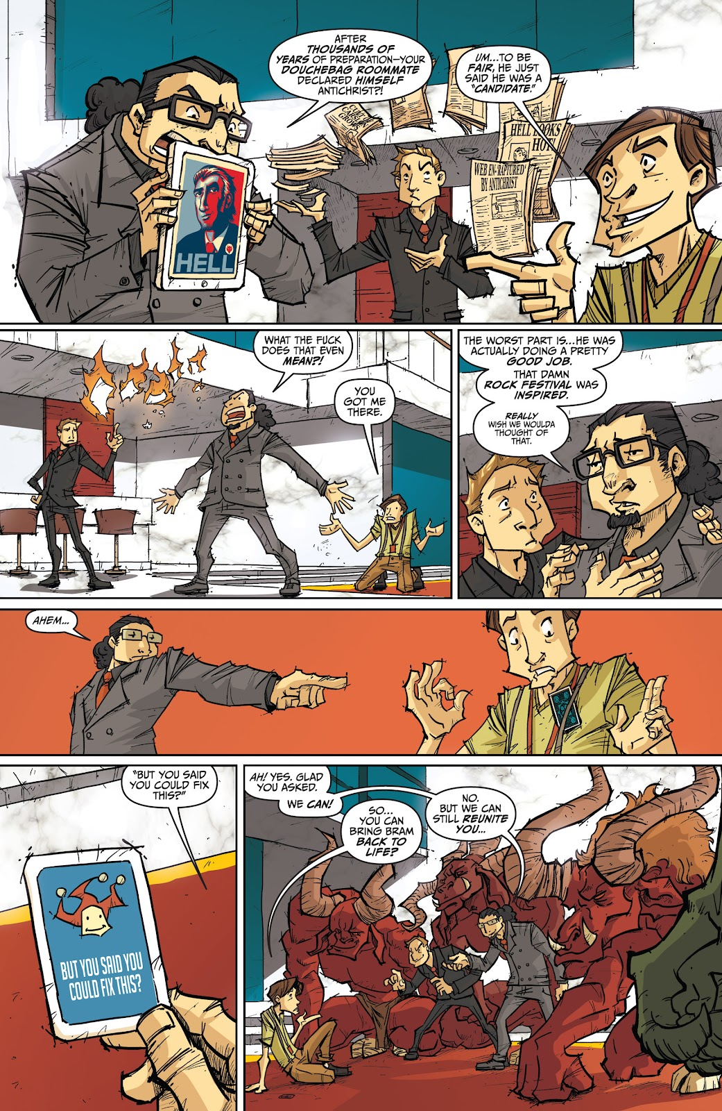 Read online The End Times of Bram and Ben comic -  Issue #4 - 6
