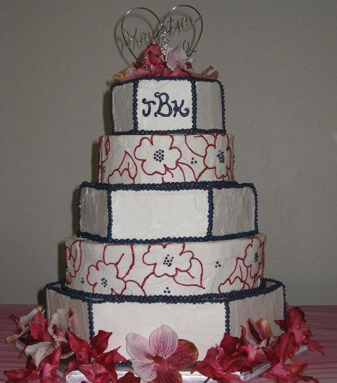 wedding cakes red white and blue s cakes white and blue wedding cake 25360