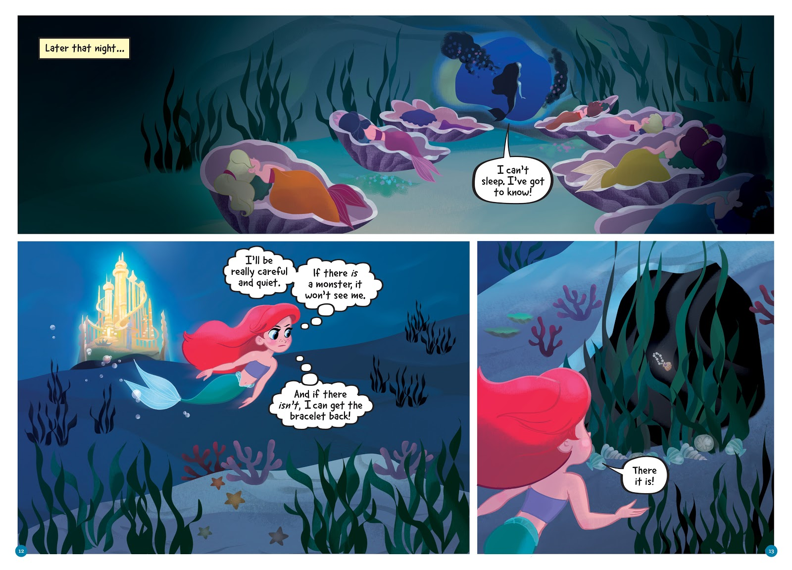 Read online Disney Princess: Ariel and the Sea Wolf comic -  Issue # Full - 11