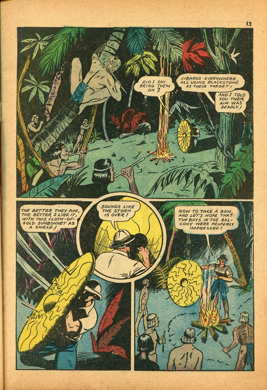 Read online Super-Magician Comics comic -  Issue #9 - 13