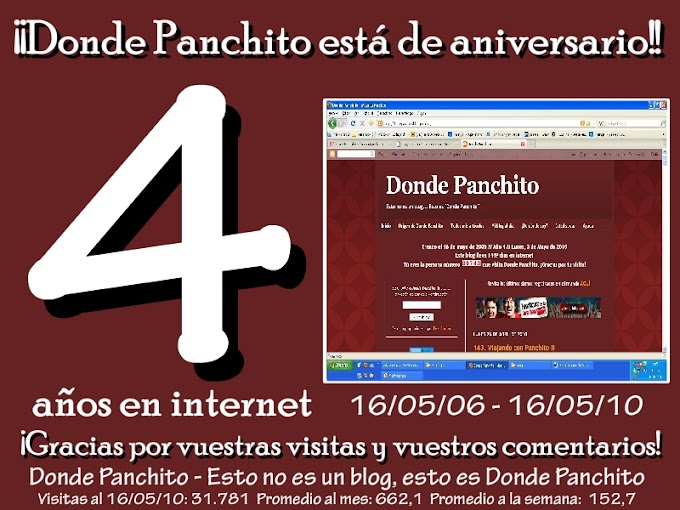 """113. Cuarto aniversario de """"Donde Panchito"""""""
