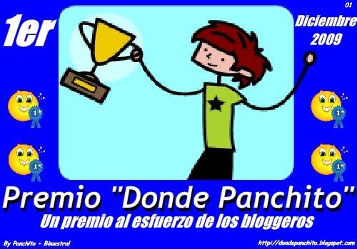 "098. Primer premio ""Donde Panchito"""