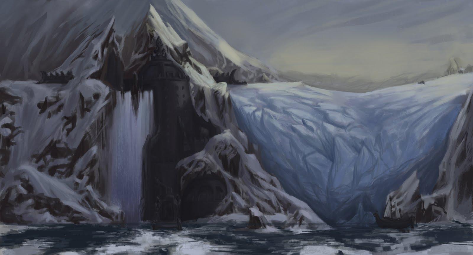 Chris Marleau Concepts Frozen Landscape