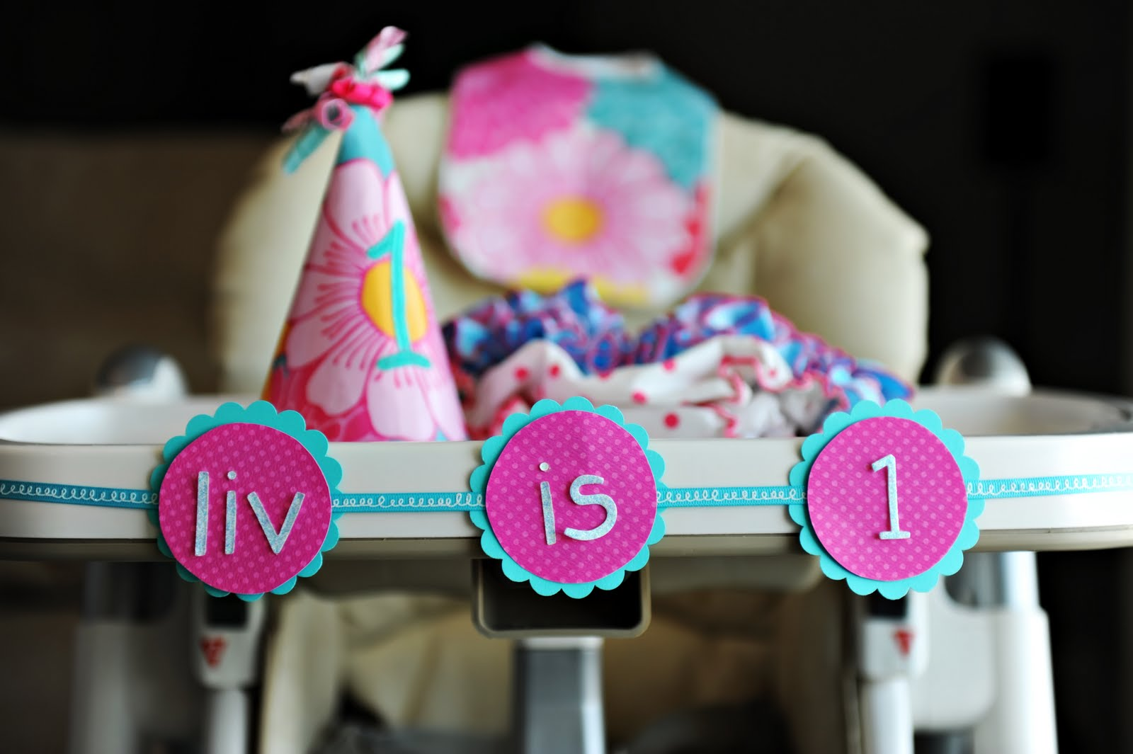 Bella Grace Party Designs One Year Old In A FLASH