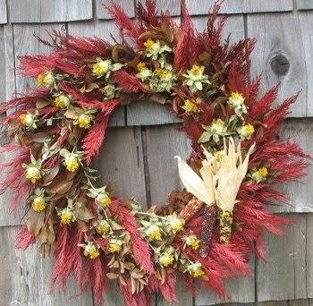 Prettyorganizedpalace Indian Corn Wreaths