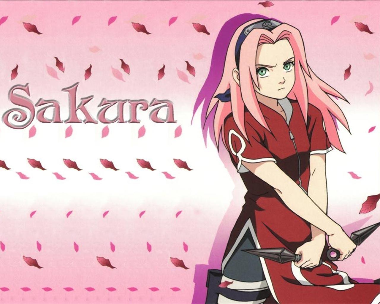 Wallpapers Desktops Sakura Haruno Wallpaper