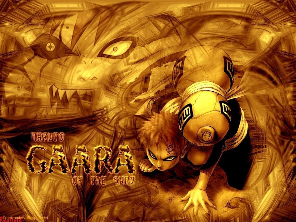 Gaara Of The Sand Naruto Sasuke Wallpaper