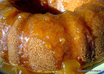 Peach Bundt Cake Using Cake Mix
