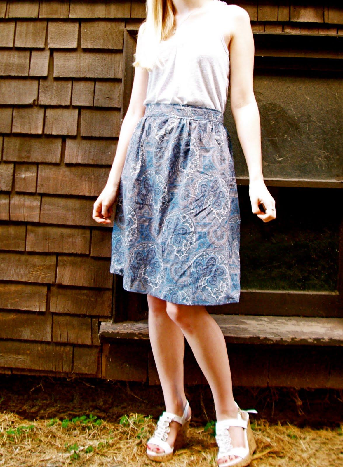 Ruffles and Roses: Summer of Skirts - Men's Dress Shirt ...