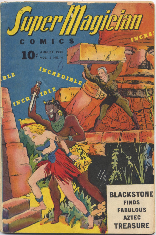 Super-Magician Comics issue 28 - Page 1