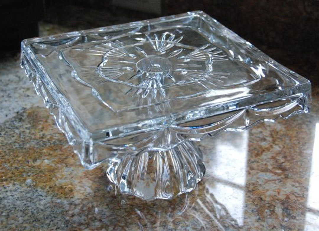 mli~mlo art: Antique Cake Plate...