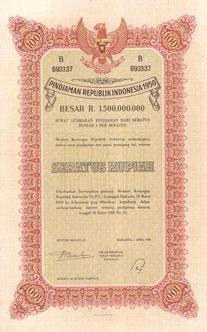 Harga Kcl Rupiah Jaringan Pengusaha Pertanian Dan Perkebunan Indonesia Dokumen Djadoel Obligasi 19 Maret 1950