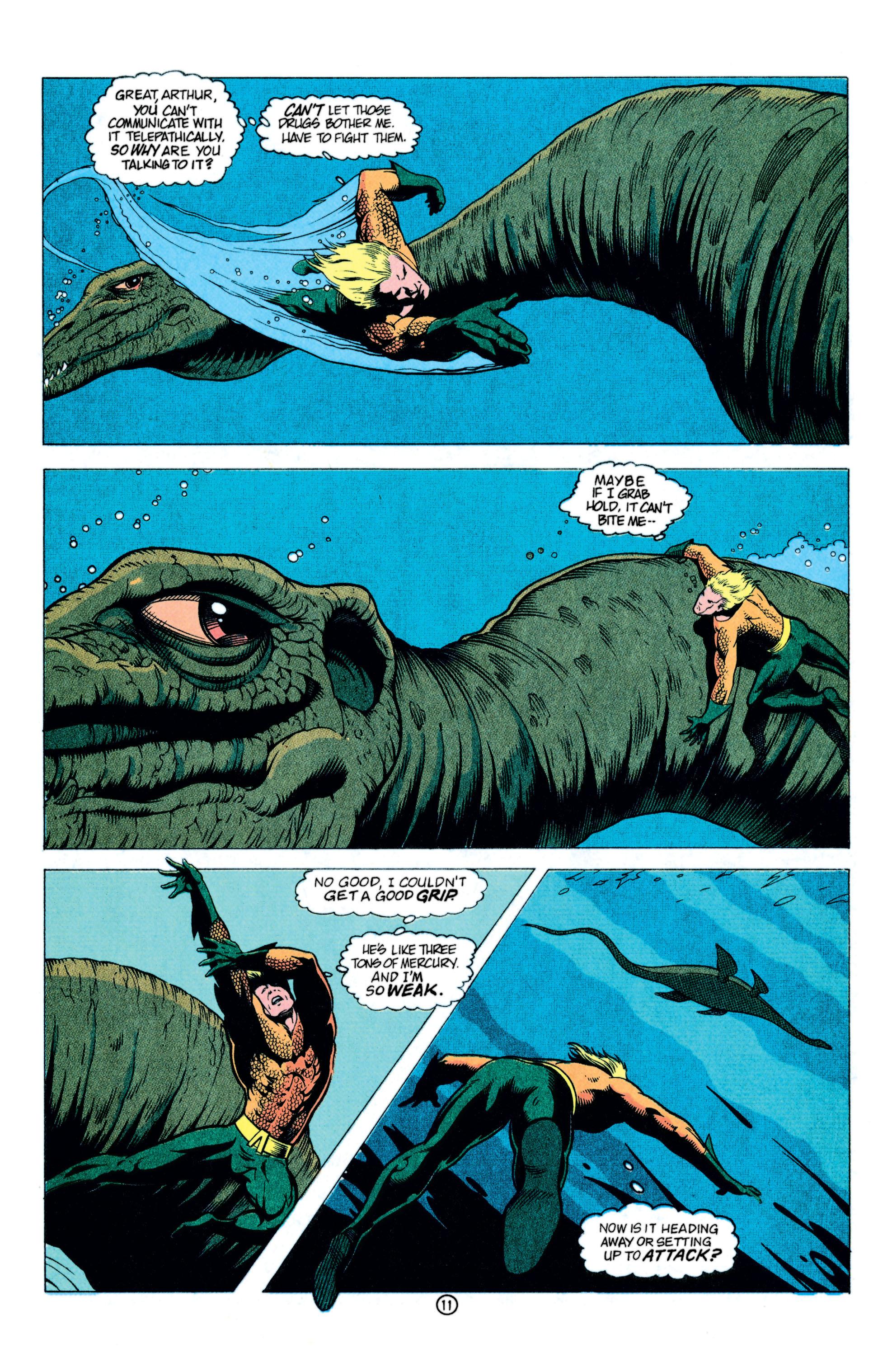 Read online Aquaman (1991) comic -  Issue #11 - 12