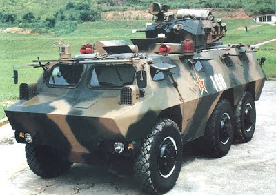 China Defense Blog: ZSL93/WZ523 6x6 Armored Personnel Carrier