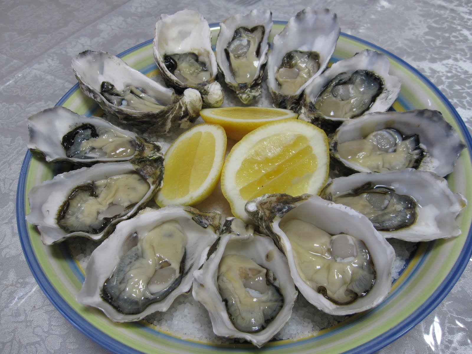 Saucy Thyme: Fresh Oysters With Preserved Lemon And