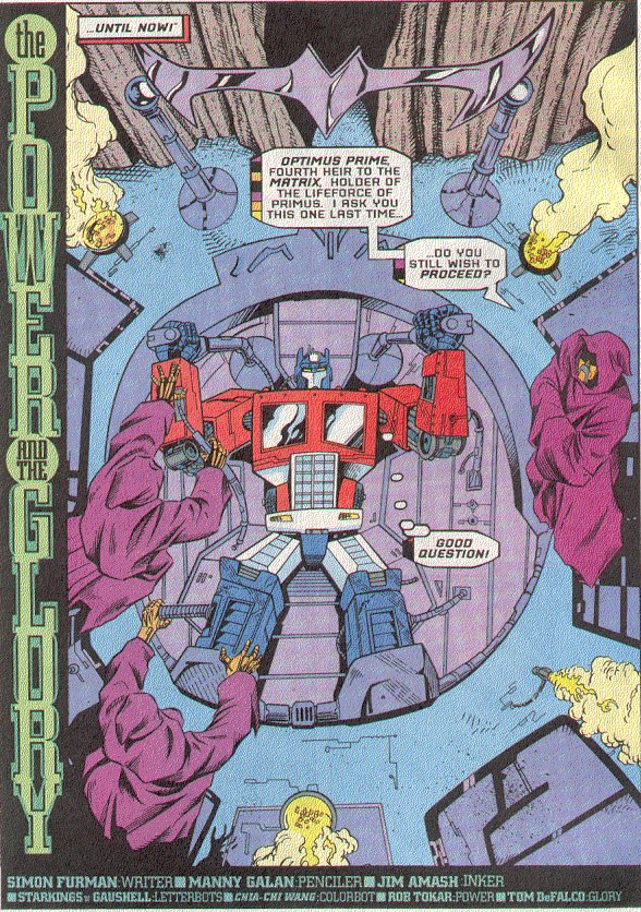 Read online Transformers: Generation 2 comic -  Issue #5 - 3