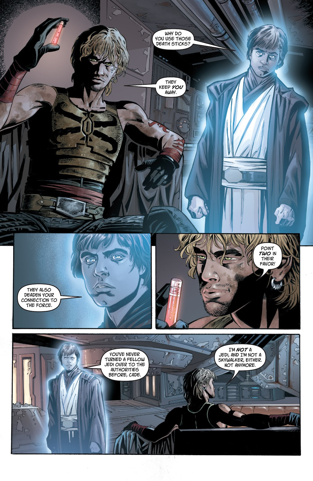 Read online Star Wars Legends: Legacy - Epic Collection comic -  Issue # TPB 1 (Part 1) - 67
