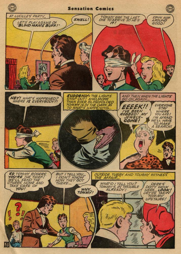 Read online Sensation (Mystery) Comics comic -  Issue #49 - 18