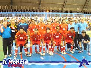 8de2b6d0be Na rodada da Copa Centro América de Futsal que teve como sede a cidade de  Matupá e mais três equipes  Itaúba