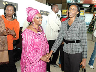 Hungry For Truth Peace And Justice Rose Kabuye Off To France