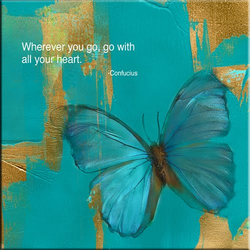 Spiritual Butterfly Quotes: Inspirational Quotes Blue. QuotesGram
