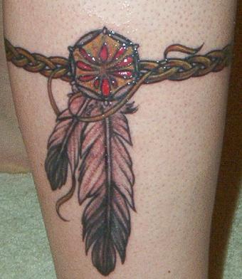 Style Tattoo Supermodel Indian Tribal Tattoos