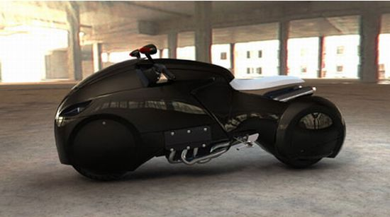 Motorcycles From Tron