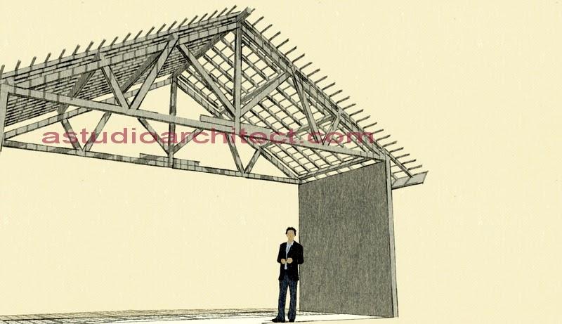 a Mengenal Konstruksi struktur Atap Kayu untuk Rumah Tinggal