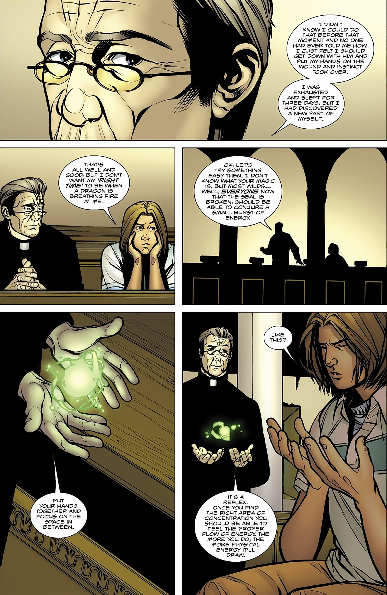 Read online Magus comic -  Issue #4 - 17