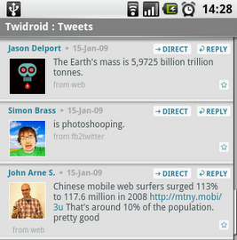 Top 10+ Android Apps for Social Media Fanatics Top 10+ Android Apps for Social Media Fanatics twidroid android twitter client