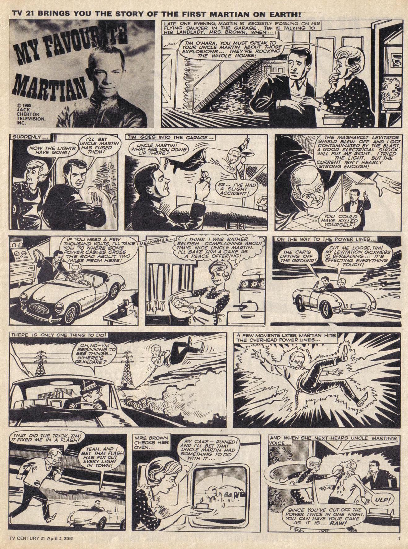 Read online TV Century 21 (TV 21) comic -  Issue #11 - 7