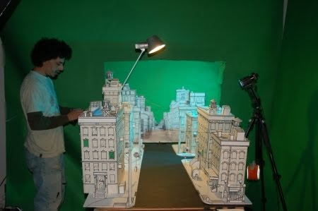 Exploring And Developing Animation Stop Motion Sets