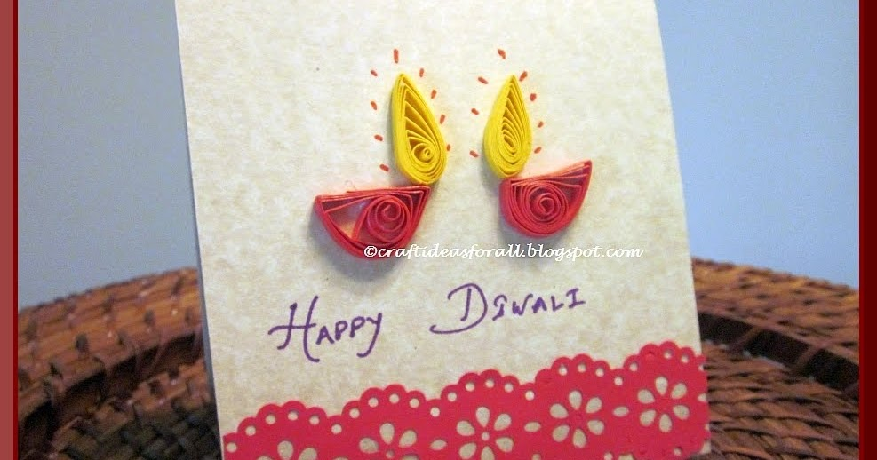 Craft ideas for all happy diwali greeting card m4hsunfo