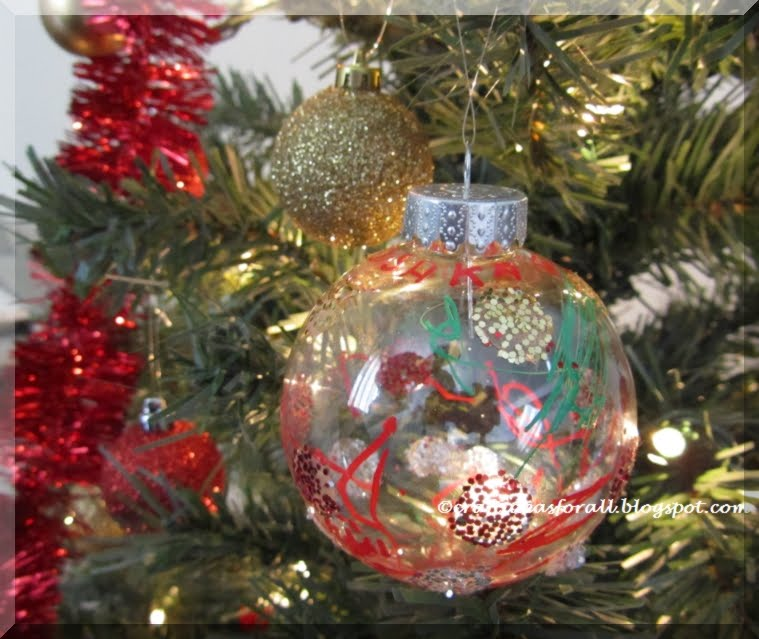 Craft ideas for all easy and unique christmas ornaments for Creative christmas ornaments to make