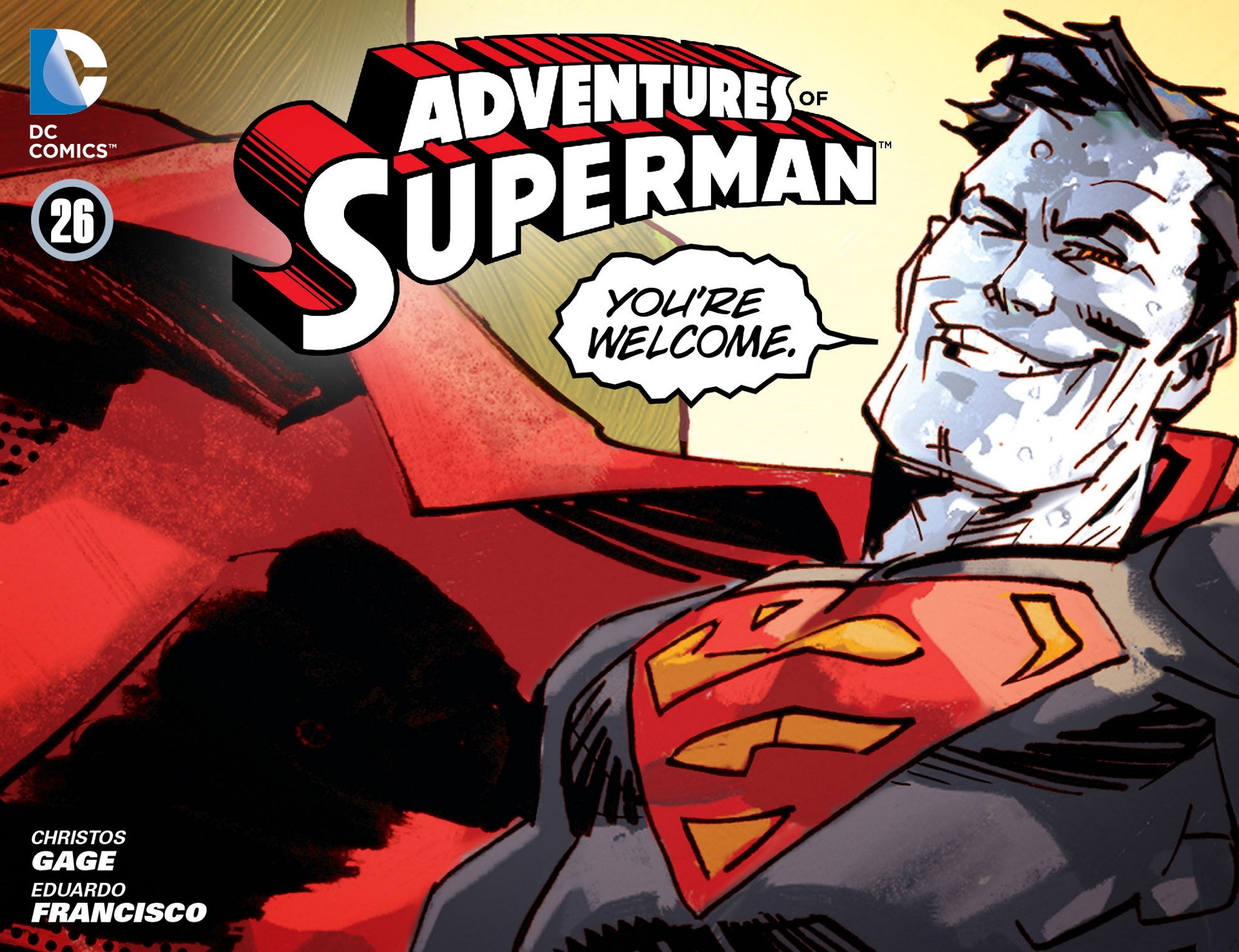 Read online Adventures of Superman [I] comic -  Issue #26 - 1